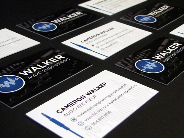 Audio Engineering Business Cards
